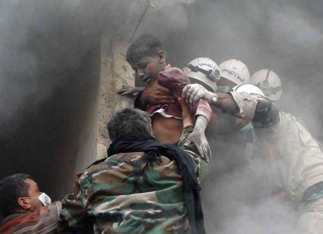ضحايا هجمات الأسد الكيماوية يرفعون دعوى أمام القضاء الفرنسي