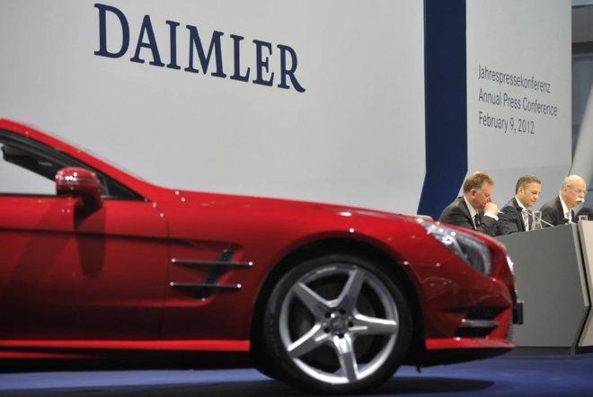 النتائج الأولية لشركة دايملر تتجاوز التوقعات.. 5.75 مليار يورو في الربع الأول