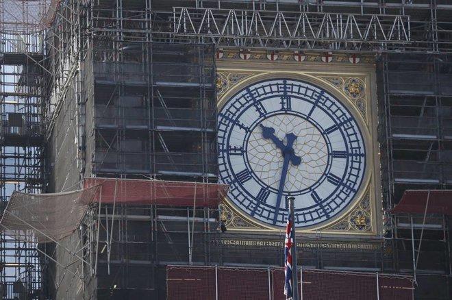الانتهاء من أعمال ترميم برج بيج بين في لندن عام 2022