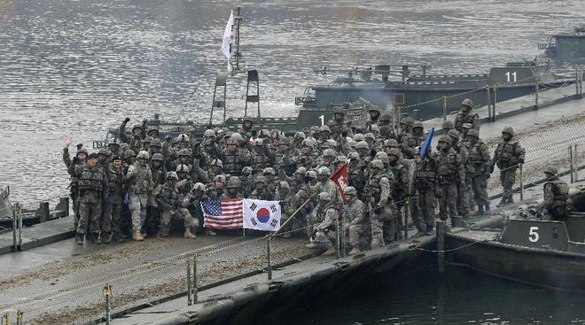 بمليار دولار .. كوريا الجنوبية تتحمل جزء من تكاليف نشر قوات أمريكية على أراضيها