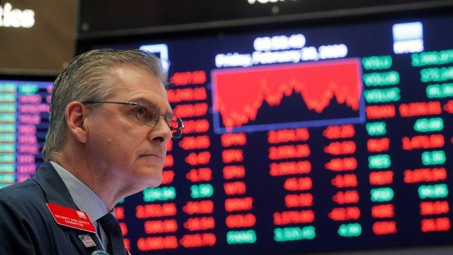 وول ستريت تغلق على انخفاض حاد مع احتدام مخاوف التضخم.. داو جونز ينخفض 682 نقطة
