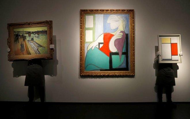 لوحة لبيكاسو تباع بـ 103 مليون دولار في مزاد بنيويورك