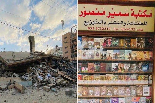 إبادة الكتب .. سلاح يهدد الكلمة والذاكرة الفلسطينية