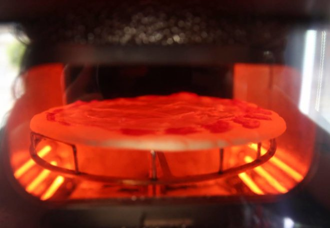 ماكينة لبيع البيتزا تختصر وقت الخبز والتقديم إلى 3 دقائق