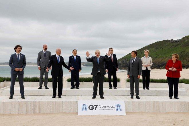 بدء قمة مجموعة السبع سعيا إلى بناء عالم أفضل