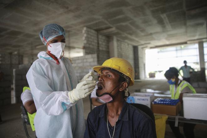 الهند تسجل أقل زيادة يومية لإصابات كورونا منذ أكثر من شهرين