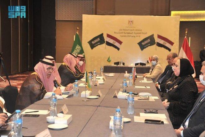 القصبي : حجم التجارة البينية بين السعودية ومصر تراجع 15 % خلال 2020 بسبب الجائحة .. ونسعى لتعزيزه