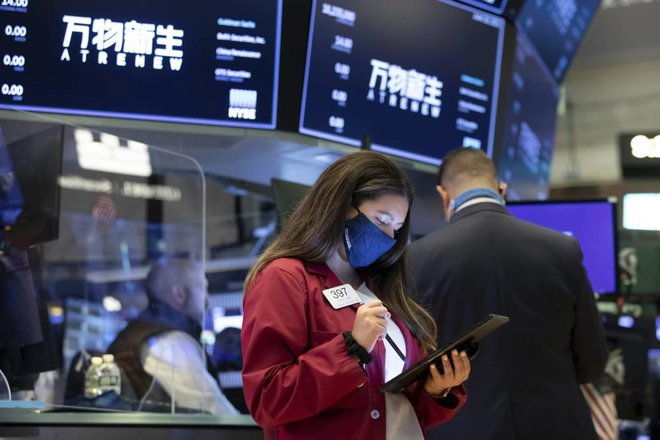 """ارتفاع مؤشرات """"وول ستريت"""" بفضل انتعاش الأسهم المالية والطاقة"""