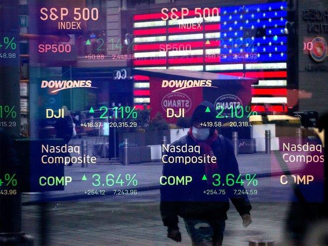 الأسهم الأمريكية تسجل سادس ذروة إغلاق على التوالي