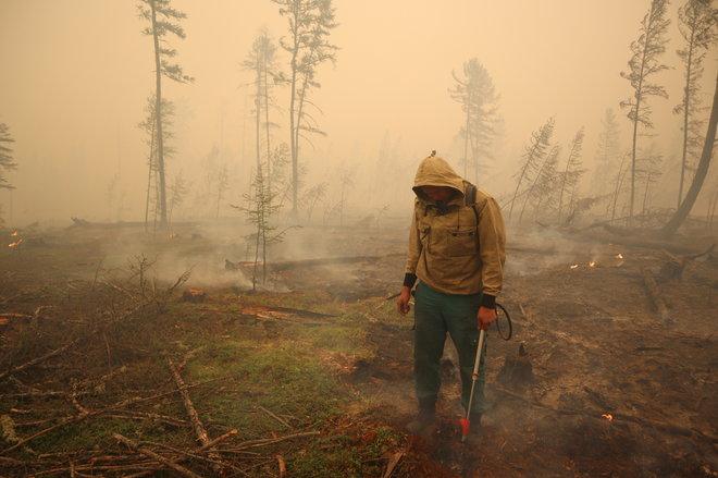 في روسيا.. حالات الطوارئ ترتفع إلى 10 حالات بفعل حرائق الغابات