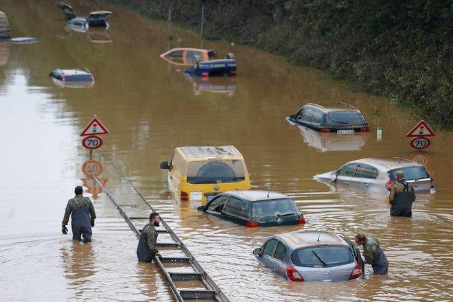 الفيضانات تدفع المناخ إلى قلب الحملة الانتخابية الألمانية