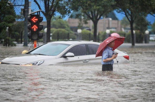 أمطار الصين