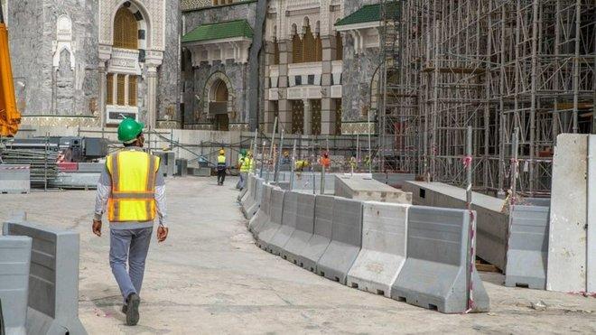 استئناف مشروع التوسعة السعودية الثالثة في المسجد الحرام