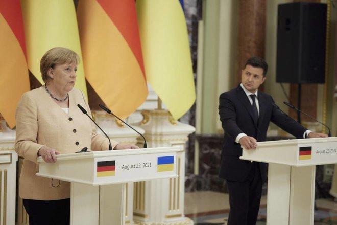 """""""نورد ستريم 2"""" يحرم أوكرانيا من عائدات ترانزيت مليارية .. وميركل تدعو لـ""""شراكة الهيدروجين"""""""