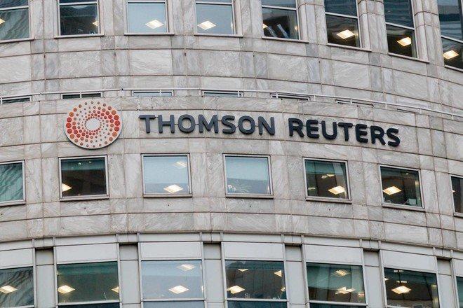 """ارتفاع أرباح """"تومسون رويترز"""" إلى 1.53 مليار دولار في الربع الثاني"""