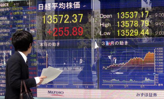 مؤشر توبكس الياباني يبلغ قمة 3 عقود