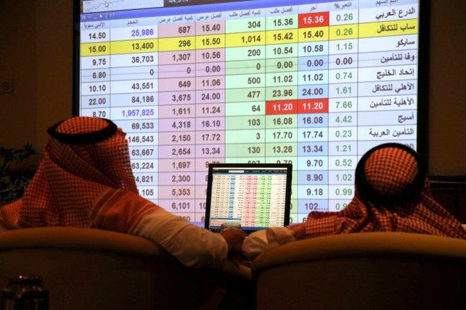 """الأسهم السعودية ترتفع بأكثر من 40 نقطة بدعم تداولات """"المزاد"""""""