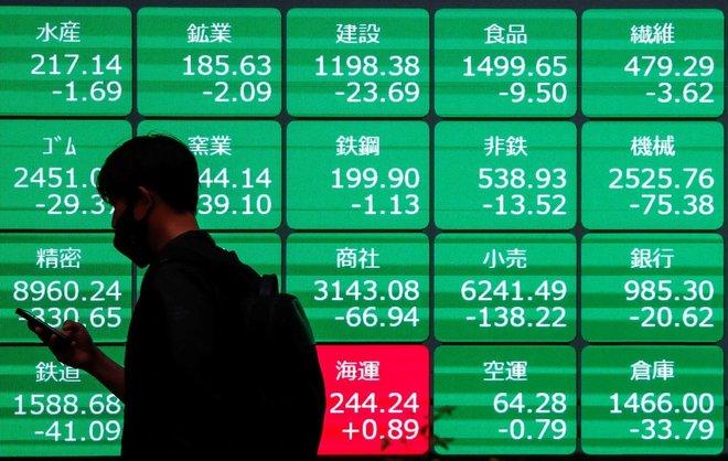 الأسهم اليابانية تنخفض نتيجة جني الأرباح