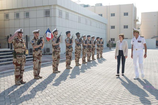 وزيرة الدفاع الفرنسية: المواجهة بين أمريكا والصين قد تأخذ شكلا عسكريا