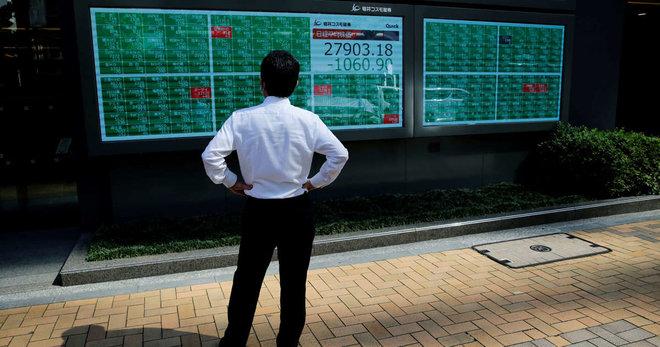 شركات الرقائق والشحن تدفع أسهم اليابان للهبوط عند الإغلاق