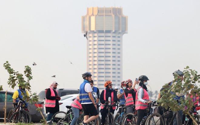 للحفاظ على الصحة واللياقة.. سعوديات يمارسن رياضة ركوب الدراجات