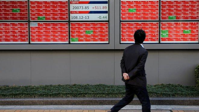 """الأسهم اليابانية تغلق مرتفعة بفضل آمال التعافي الاقتصادي و""""سوفت بنك"""" يقفز 9.8%"""