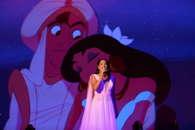 عرض موسيقي لأميرات ديزني يبهر الحضور في الرياض