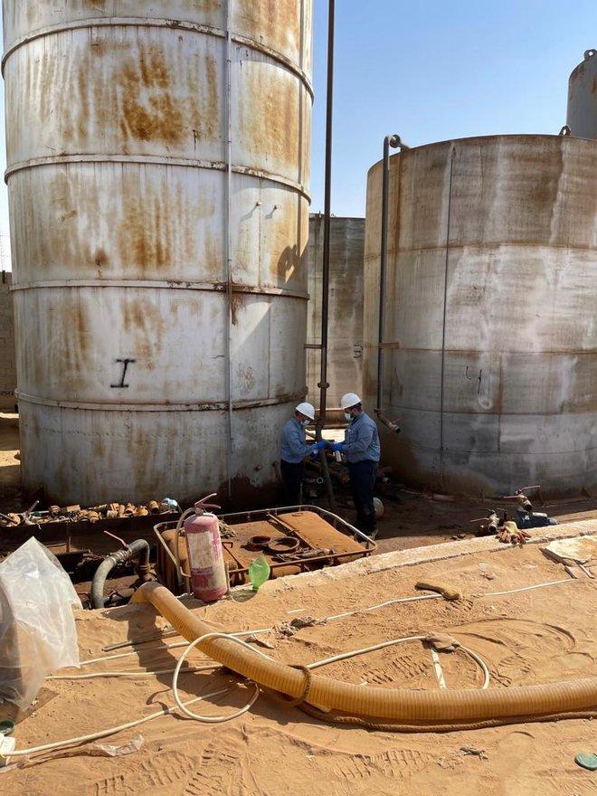 وزارة الطاقة: ضبط موقع مخالف لنظام التجارة بالمنتجات البترولية