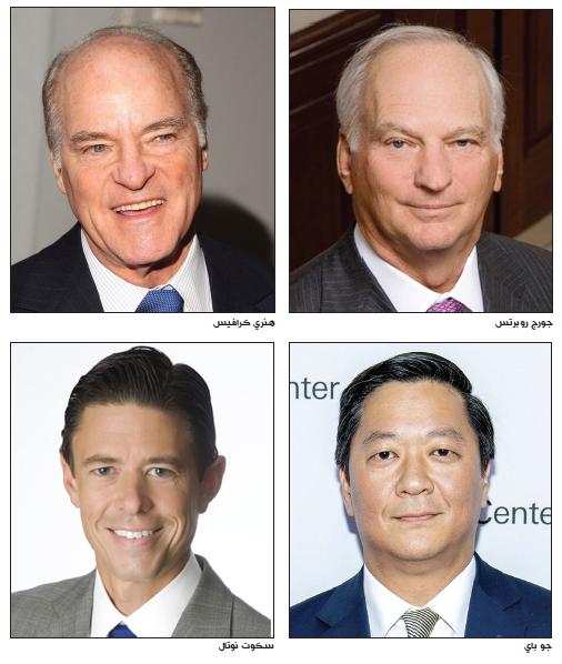 «كيه كيه آر» .. قيادة جديدة لأكثر الشركات ضخامة في وول ستريت