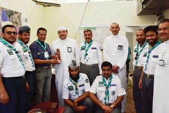«الكشافة» و«مطوفو حجاج الدول العربية» ينجحان  في تفويج 130 ألف حاج