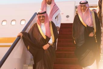 ولي العهد يصل إلى الرياض قادماً من قطر