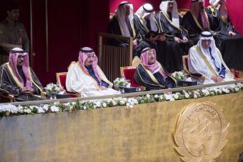 خادم الحرمين الشريفين يُشرف الحفل الذي أقيم بمركز الشيخ جابر الأحمد الثقافي في الكويت