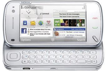 نوكيا N97  يدعم حزمة من التطبيقات الإلكترونية والتصفح السريع للإنترنت