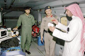 طائرة إنقاذ «براعم الوطن» نجت من حادث سقوط أثناء نقل المصابات