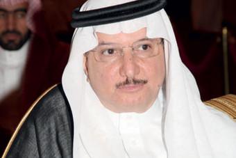 أمير الرياض يشكر العثيمين على جهود الصندوق الخيري الاجتماعي