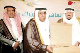 نائب أمير القصيم يرعى اتفاقية شراكة بين بنك الرياض وجمعية «كبدك»