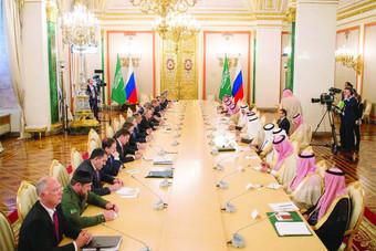 الاتفاقيات السعودية – الروسية ترسم خريطة طريق للتنمية وفق «رؤية 2030»
