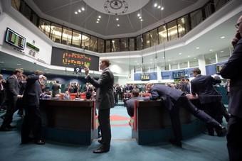 مؤشر بورصة لندن ينهي اليوم على ارتفاع