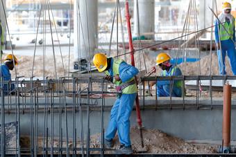 انكماش قطاع التشييد في قطر خلال الربع الأول