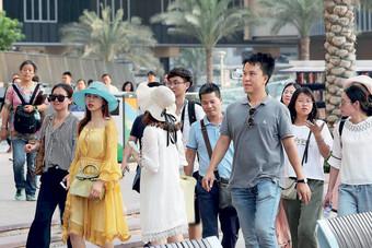 دبي تجتذب 8.36 مليون زائر خلال النصف الأول من 2019