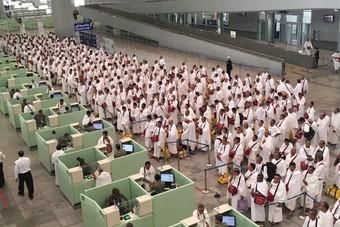 وصول أكثر من 1.7 مليون حاج إلى السعودية عبر جميع المنافذ