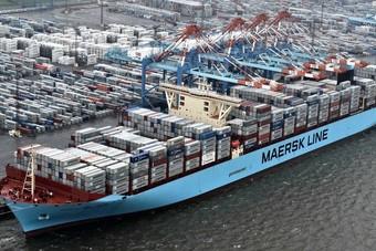 """""""ميرسك"""" للنقل البحري ترفع توقعات أرباحها"""