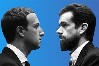 """""""تويتر"""" يسخر من تغيير """"فيسبوك"""" لشعاره"""