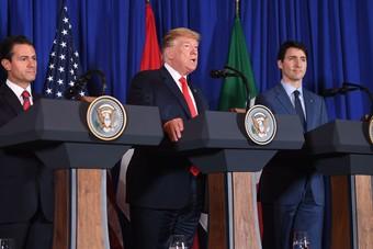 ترمب يوقًع اتفاقية جديدة للتجارة بين الولايات المتحدة والمكسيك وكندا