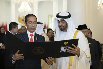 الرئيس الإندونيسي يوقيع صفقات بـ 18.8 مليار دولار في مجالي الطاقة والتجارة خلال زيارته أبوظبي