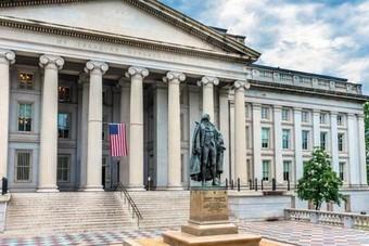 الحكومة الأمريكية تسجل 235 مليار دولار عجزا في الميزانية في فبراير