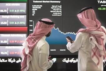 """صعود أسهم """"البنوك"""" يدعم السوق السعودية لتغلق على مكاسب"""