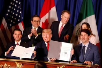 اتفاقية التجارة الجديدة لأمريكا الشمالية تدخل حيز التنفيذ اليوم الأربعاء