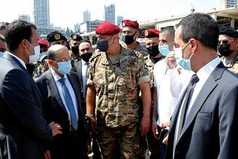 عون: الخسائر الناجمة عن انفجار مرفأ بيروت تفوق 15 مليار دولار