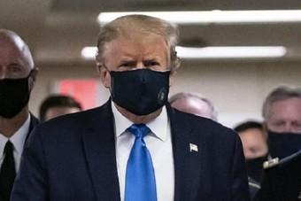 ترمب يستعد لعقد أول فعالية له منذ الإعلان عن إصابته بفيروس كورونا